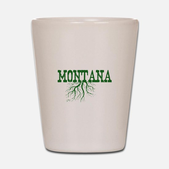 Montana Roots Shot Glass