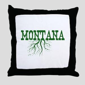 Montana Roots Throw Pillow