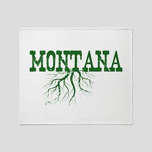 Montana Roots Throw Blanket