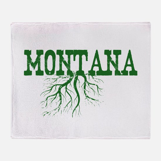 Montana Roots Throw Blanket