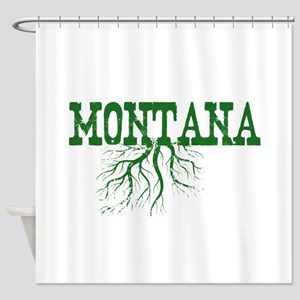 Montana Roots Shower Curtain