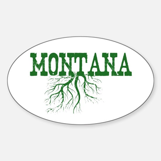 Montana Roots Sticker (Oval)
