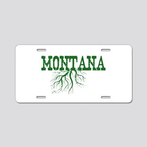Montana Roots Aluminum License Plate
