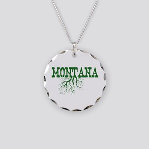 Montana Roots Necklace Circle Charm
