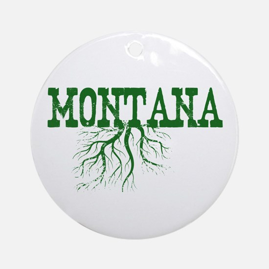 Montana Roots Ornament (Round)