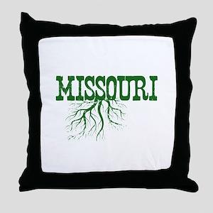 Missouri Roots Throw Pillow
