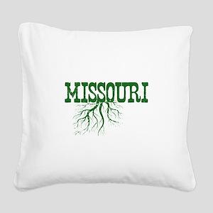 Missouri Roots Square Canvas Pillow