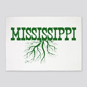 Mississippi Roots 5'x7'Area Rug
