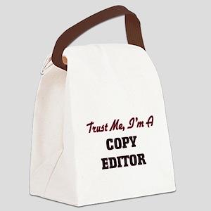 Trust me I'm a Copy Editor Canvas Lunch Bag