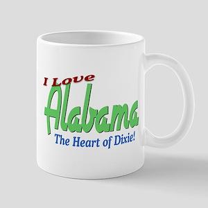 I Love Alabama Mug Mugs