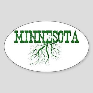 Minnesota Roots Sticker (Oval)