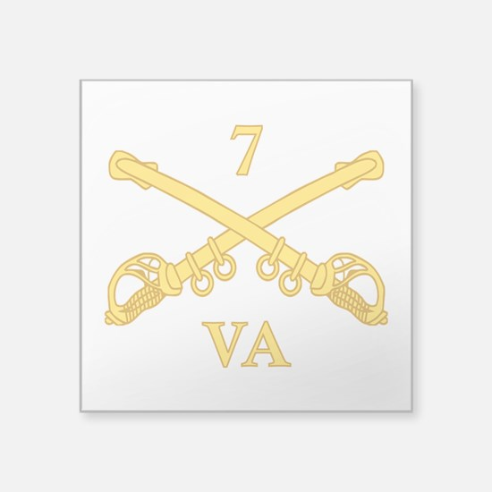 CSC-7th Virginia Cavalry Sticker