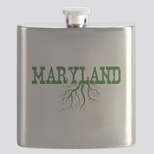 Maryland Roots Flask