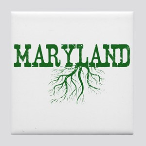Maryland Roots Tile Coaster