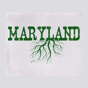 Maryland Roots Throw Blanket