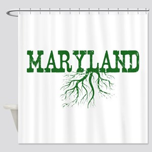 Maryland Roots Shower Curtain