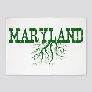 Maryland Roots 5'x7'Area Rug