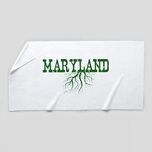 Maryland Roots Beach Towel