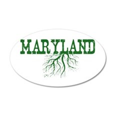 Maryland Roots Wall Decal