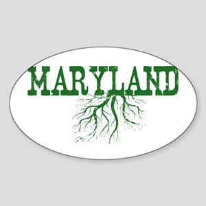 Maryland Roots Sticker (Oval)