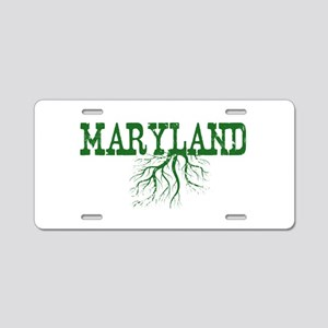 Maryland Roots Aluminum License Plate