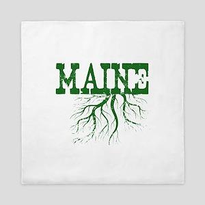 Maine Roots Queen Duvet