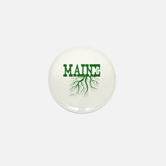Maine Roots Mini Button