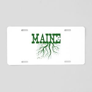 Maine Roots Aluminum License Plate