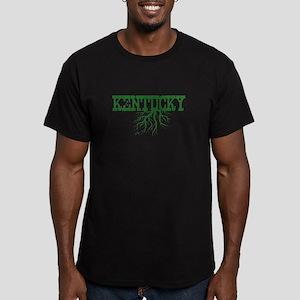 Kentucky Roots Men's Fitted T-Shirt (dark)