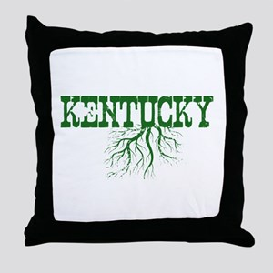 Kentucky Roots Throw Pillow