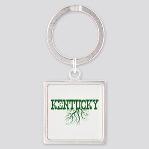Kentucky Roots Square Keychain