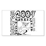 Lemurcon 2004 Sticker (Rect.)