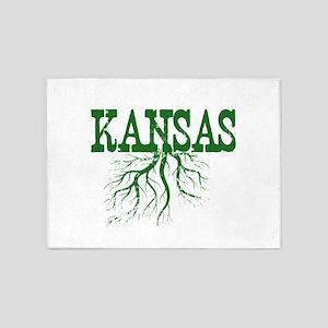 Kansas Roots 5'x7'Area Rug
