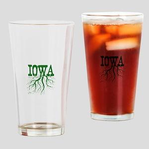 Iowa Roots Drinking Glass