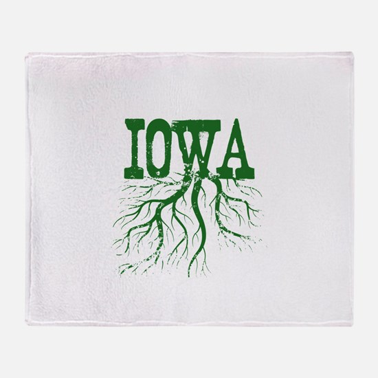 Iowa Roots Throw Blanket