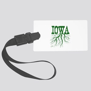 Iowa Roots Large Luggage Tag