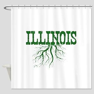 Illinois Roots Shower Curtain