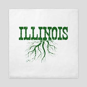 Illinois Roots Queen Duvet