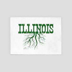 Illinois Roots 5'x7'Area Rug