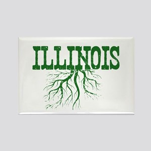 Illinois Roots Rectangle Magnet
