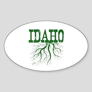 Idaho Roots Sticker (Oval)