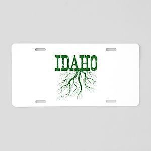 Idaho Roots Aluminum License Plate