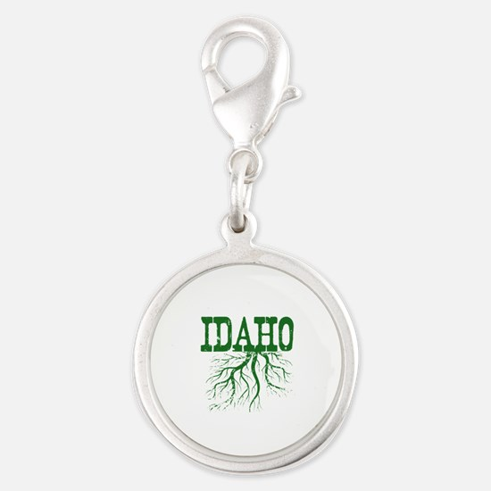 Idaho Roots Silver Round Charm