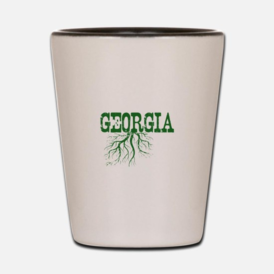 Georgia Roots Shot Glass