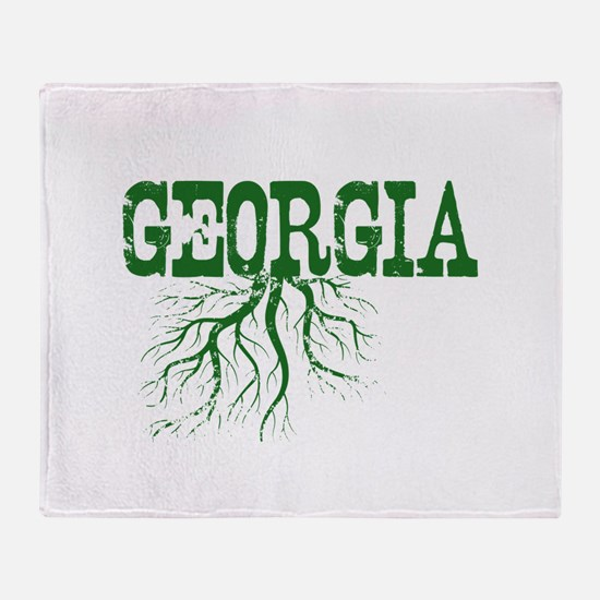 Georgia Roots Throw Blanket