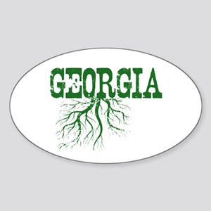 Georgia Roots Sticker (Oval)