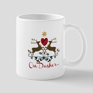 On Dasher... Mugs