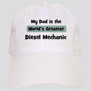 Worlds Greatest Diesel Mechan Cap