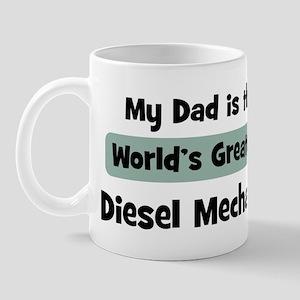 Worlds Greatest Diesel Mechan Mug