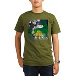 Scary Campfire Storie Organic Men's T-Shirt (dark)